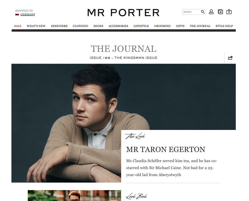 The Journal Magazine by MR PORTER